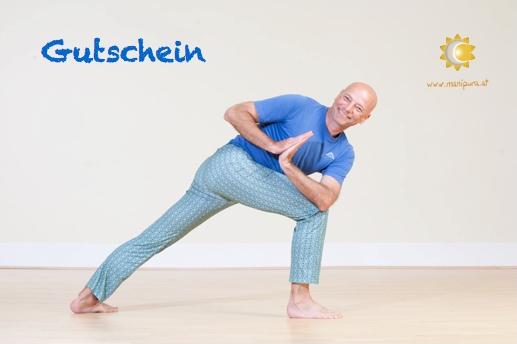 Gutschein Yoga