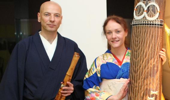 Zen des Lauschens.Strehly&Zechmeister-Shakuhachi&Koto
